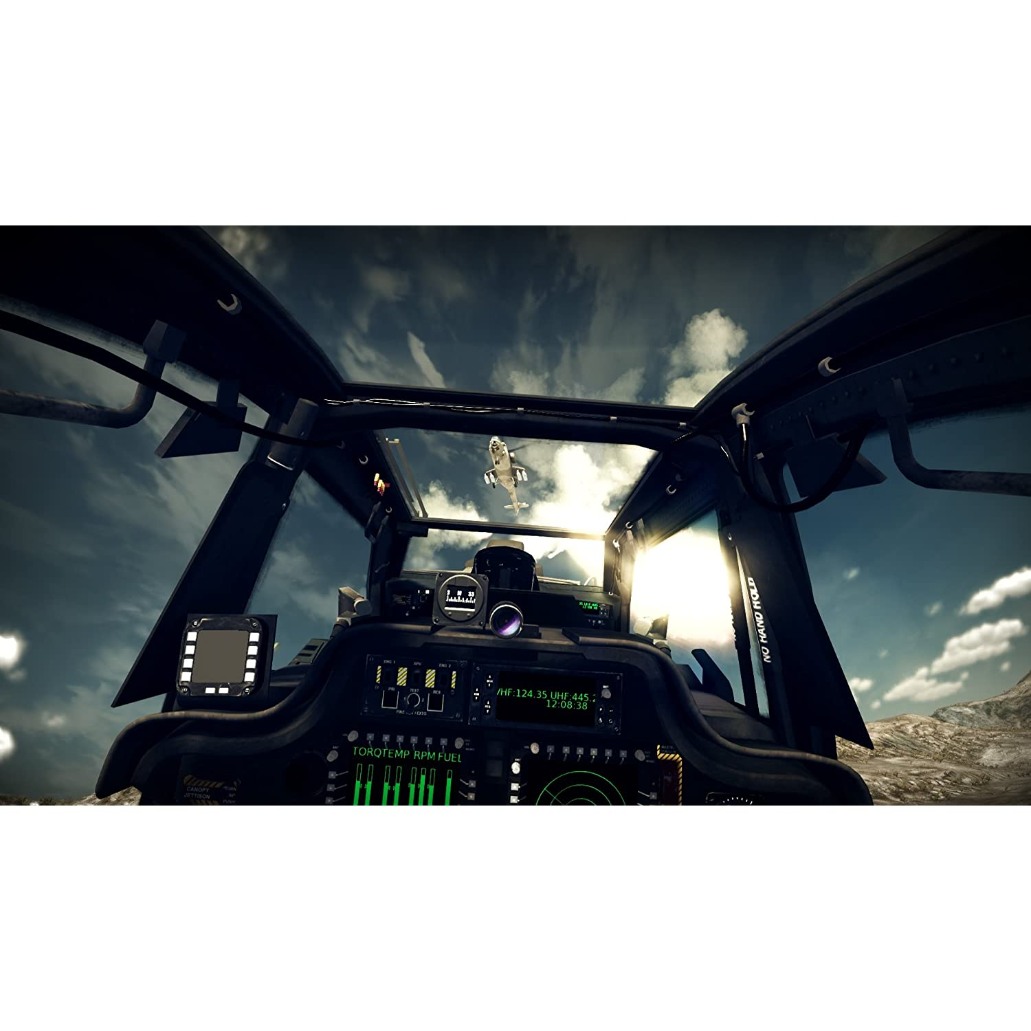 Online Game, Video Game, PlayStation 3, PS3, Xbox 360, Flight Simulator, Air Combat, Helicopter, Flying, Simulation, Action, Apache: Air Assault