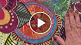 Fun Finishes for Raw Edge Applique Quilts