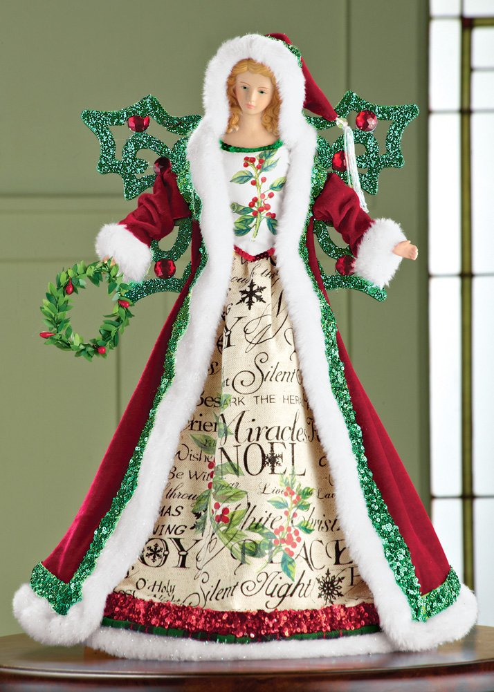Angel unlit tree toppers christmas wikii