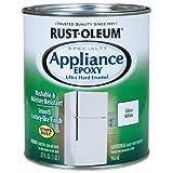 Rustoleum 241168 Quart White Appliance Epoxy Paint (Color: Appliance Enamel White, Tamaño: Quart 32-Ounce)