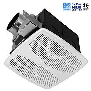 bv ultra-silent bathroom ventilation and exhaust fan review