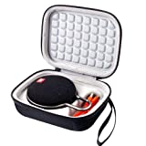 Case for JBL Clip 2 / JBL Clip 3 Waterproof Portable Bluetooth Speaker, Fit USB Cable and Adapter - Black (Color: Black)