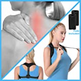 Upper Back Support Brace Posture Corrector for Women and Men | Best Orthopedic Corrective Strap Adults Under Clothes Straightener Back Pain Relief Straight Man Neck Brace Shoulder Natural Position