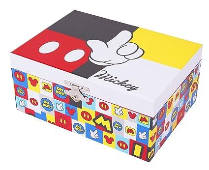 Trousselier - Mickey - Disney - Grande Boite à Trésors Musicale