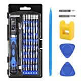 Hobby-Ace 62 in 1 Precision Screwdriver Set Magnetic Driver Kit Magnetizer, Professional Repair Tool Kit Electronics Devices, Cell Phone, Tablet, PC, Watches and More (Color: 62 in 1 Screwdriver Set, Tamaño: As Shown)