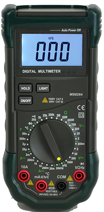 Mastech MS8264 30-Range Digital Multimeter