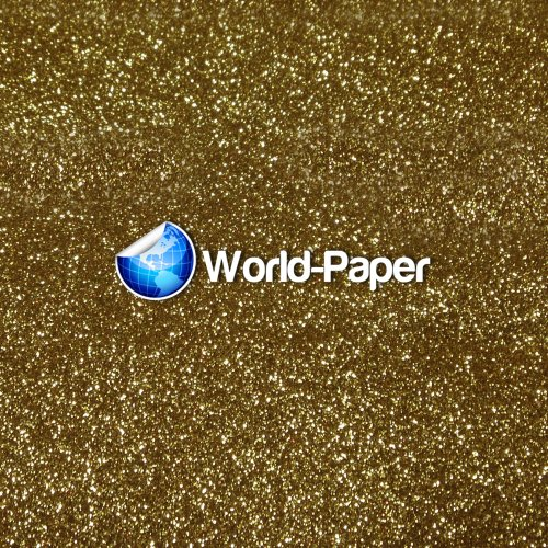 Heat Transfer Vinyl Siser Glitter 20' 'X 1 Foot (Light Gold) front-947248