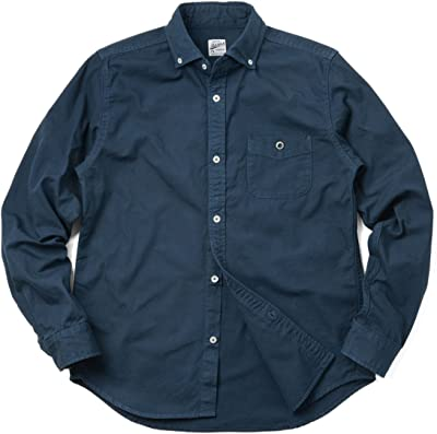 BARNS OUTFITTERS バーンズ アウトフィッターズ BR-4965N オックスフォード ボタンダウンシャツ