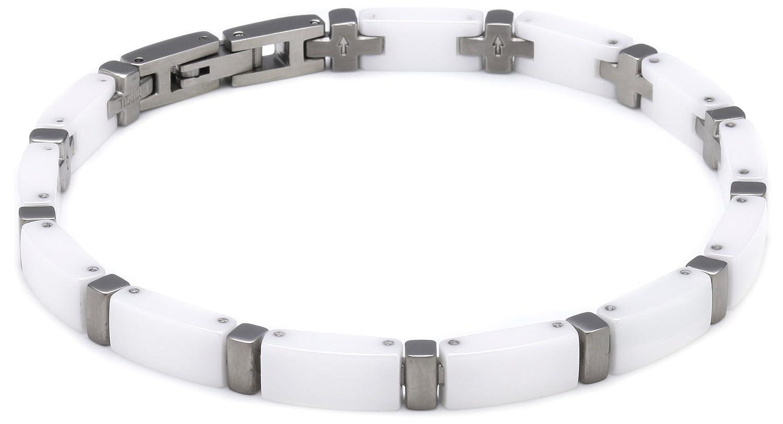 Boccia Damen-Armband Titan und weiße Ceramic 0371-03 jetzt bestellen