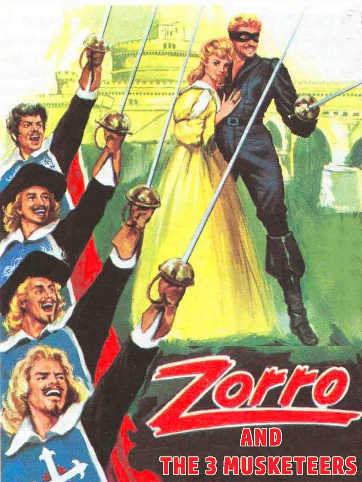 Zorro vs The Three Musketeers