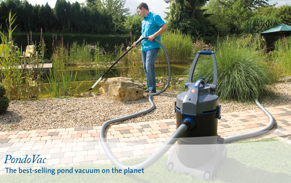 PondoVac - The best-selling pond vacuum on the planet