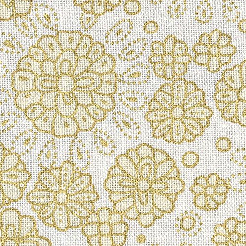 ivory-turquoise-peacock-theme-from-fabric-freedom-ivory-with-gold-printed-100-cotton-british-designe