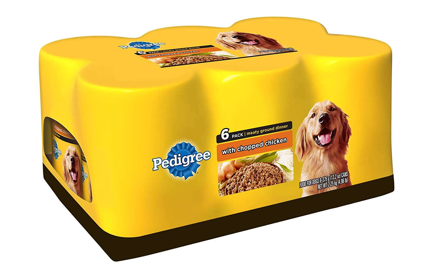 Pedigree Canned Dog Food  With Chopped Chicken  Wet Dog
