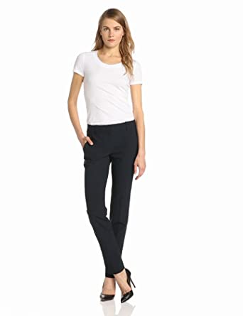 Theory Women's Juin Stay Short Sleeve Tee Shirt, White, Petite
