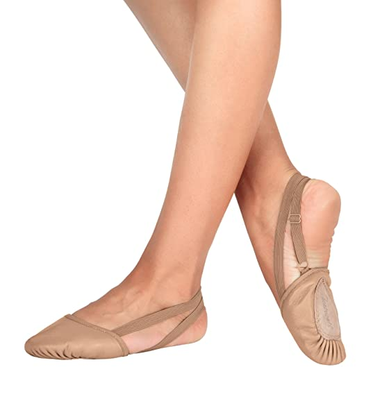 Authentic Half Sole Leather Modern/Lyrical Shoe,T8970 For Women Factory Outlet