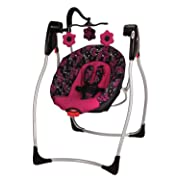 Taggies Portable Swing Cozy Posies Baby Gear And Accessories
