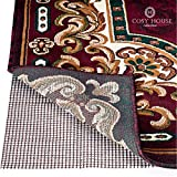 High Quality Non-Slip Area Rug Pads by Cosy House - Fully Washable, Best Pad for Firm Hold on Oriental Traditional or Contemporary Rugs & Mats on Hard Surface Floors Like Wood, Tile or Cement (2 x 7)