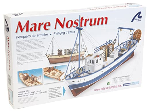 Artesania Latina 1/35Mare Nostrum, eau automobiles 20100