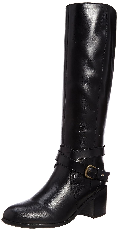 Amazon.co.jp: [ベルフローリー] BELL FLORRIE ベルトカジュアルロングブーツ 473F65660 BL (ブラック/23.5): シューズ&バッグ:通販
