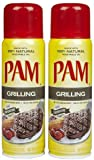 PAM Grilling No-Stick Cooking Spray, 5 oz, 2 pk