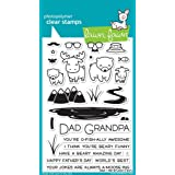 Lawn Fawn Clear Stamps - Dad + Me stamps