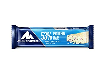 Multipower 53 Prozent Protein Bar - 24 Riegel Geschmack Mix Pack, 1er Pack (1 x 1.2 kg)