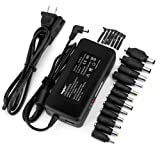 Selectec Universal 12 Tips Laptop AC Adapter Power Supply Charger Replacement for HP DELL Sony Acer Asus Fujitsu Gateway IBM Lenovo Toshiba Satellite (18.5V 3.5A/19V 3.16A/19V 3.42A/19V 4.74A)