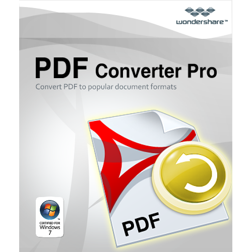 Wondershare  PDF Converter Pro-Convert and create high quality PDF files [Download] (Pdf Converter Software compare prices)