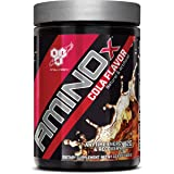 BSN Amino X Cola Series, Post Workout Muscle Recovery & Endurance Powder with 10 Grams of Amino Acids and 150 mg Caffeine, Flavor: Cola Amino (Color: Caffeinated Cola, Tamaño: 10.6 Ounce)