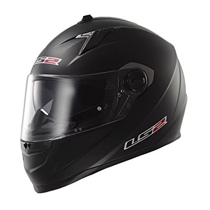 LS2 Casque de moto noir Ff322 Concept Ii Matt