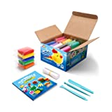 Sago Brothers Air Dry Clay, 10 Colors Modeling Clay for Kids, Molding Magic Clay for Slime add ins & Slime Supplies, Kids Gifts Art Set for Boys Girls