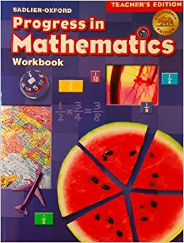sadlier oxford progress in mathematics workbook teacher 39 s. Black Bedroom Furniture Sets. Home Design Ideas