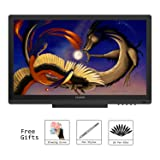 Huion KAMVAS GT-191 Digital Graphics Drawing Monitor 8192 Pen Pressure 19.5 Inch HD Pen Display for Windows and Mac PC (Color: GT-191)