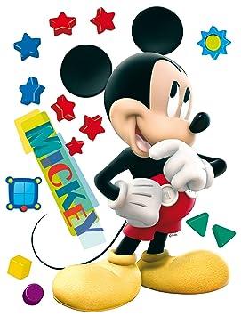 Accappatoio Grigio a Strisce Topolino Mickey Disney