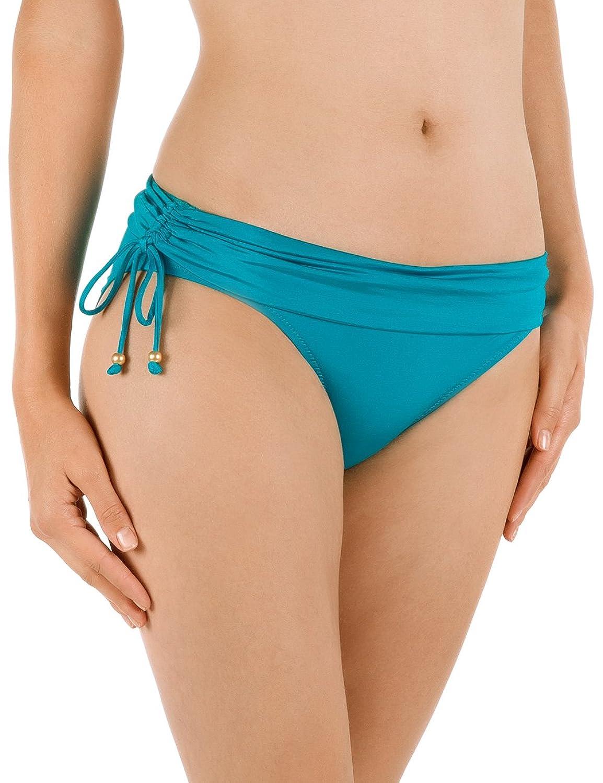 Calida Damen Slip Bikinihose Costa Smeralda, Einfarbig