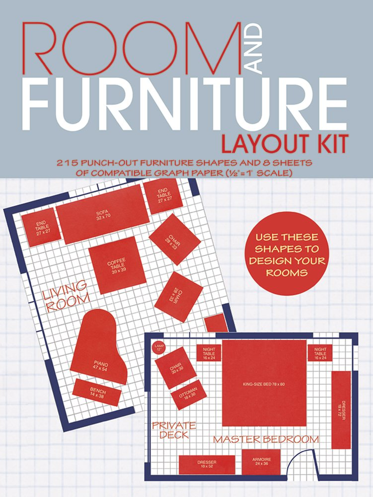 Room and Furniture Layout Kit ISBN-13 9780486242132