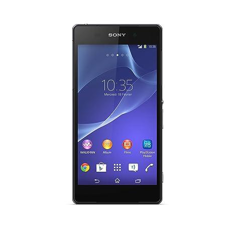 Sony Xperia Z2 Smartphone débloqué 4G (Ecran: 5.2 pouces - 16 Go - Android 4.4 KitKat) Noir + Ecouteurs MDR-NC31EM à réduction de bruit active