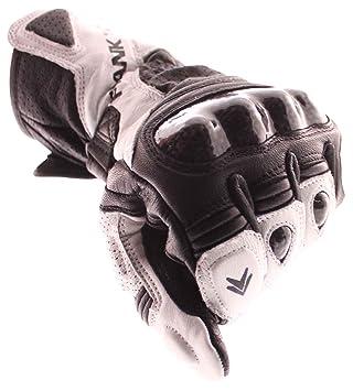 Frank Thomas FT2Gants de moto en cuir gants de moto Blanc/Noir J & S