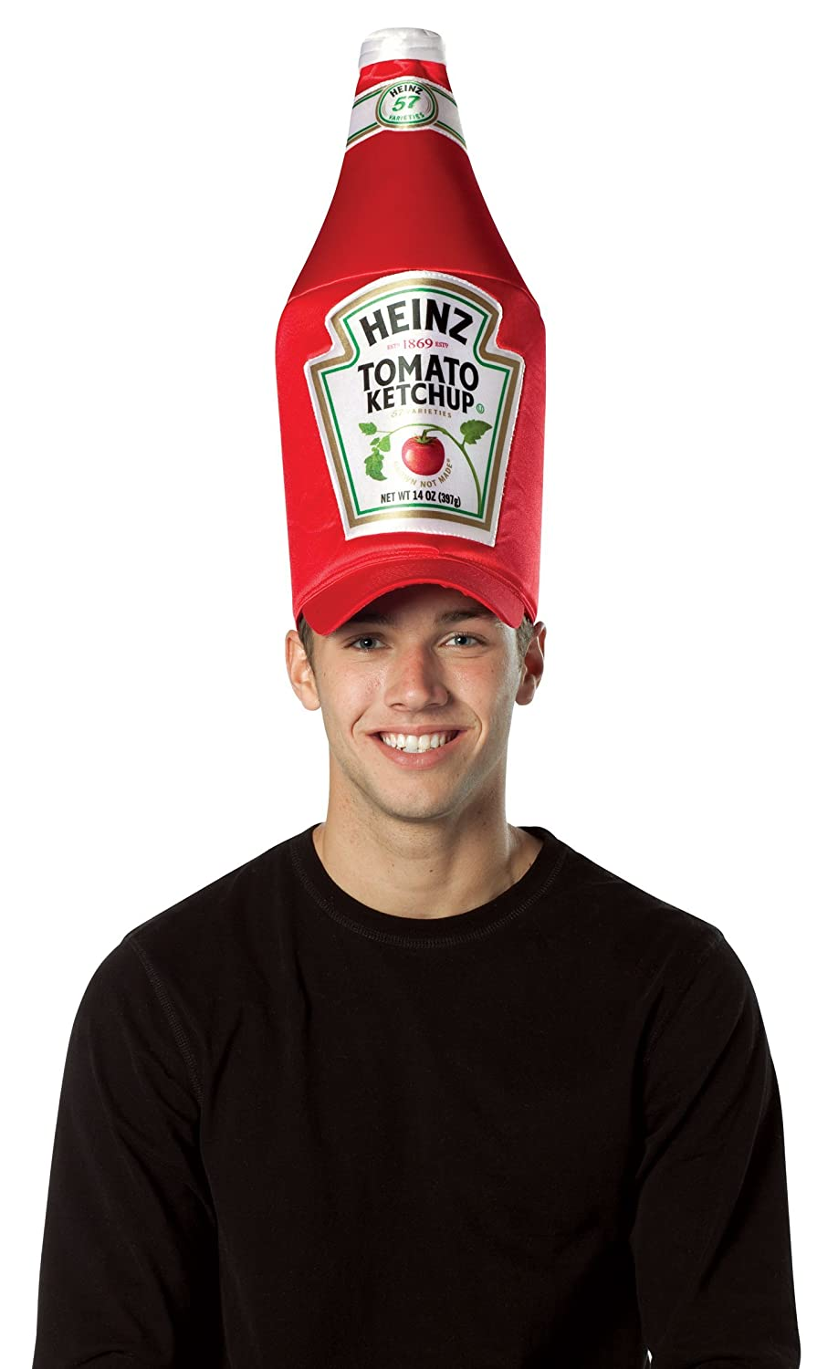 Heinz Ketchup Adult Bottle Hat