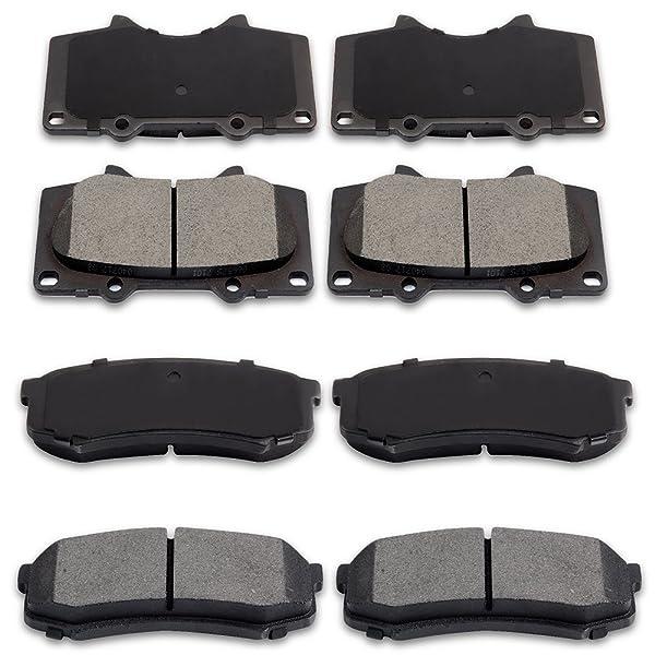 Genuine Toyota 04466-AZ108 2007-2017 Tundra Brake Pads Premium Ceramic REAR