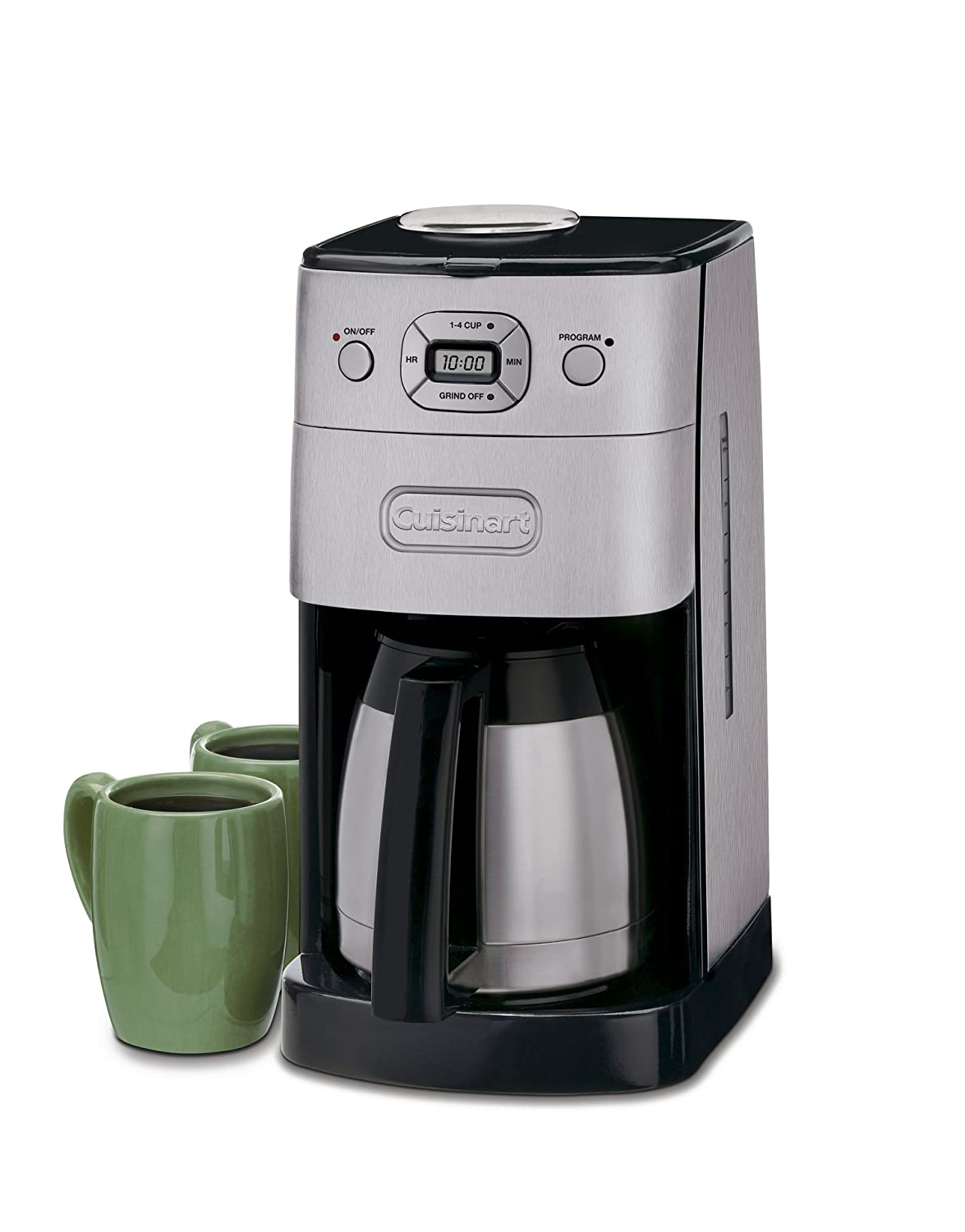 Coffee Maker With Grinder ~ Cuisinart dgb bc grind and brew thermal cup