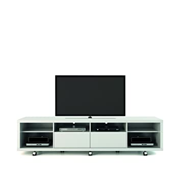 Manhattan Comfort Cabrini 2.2 TV Stand, White Gloss
