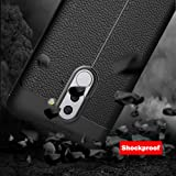 for Huawei Honor 6X Case Shockproof Soft Cases Silicone for Huawei Mate 9 Lite BLN-AL10 GR5 2017 TPU Cover Case Shell Phone Bag Skin Bumper (Color: Black)