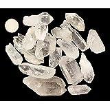 1 Pound of Natural Brazilian Quartz Crystal Points - Healing Reiki Wholesale