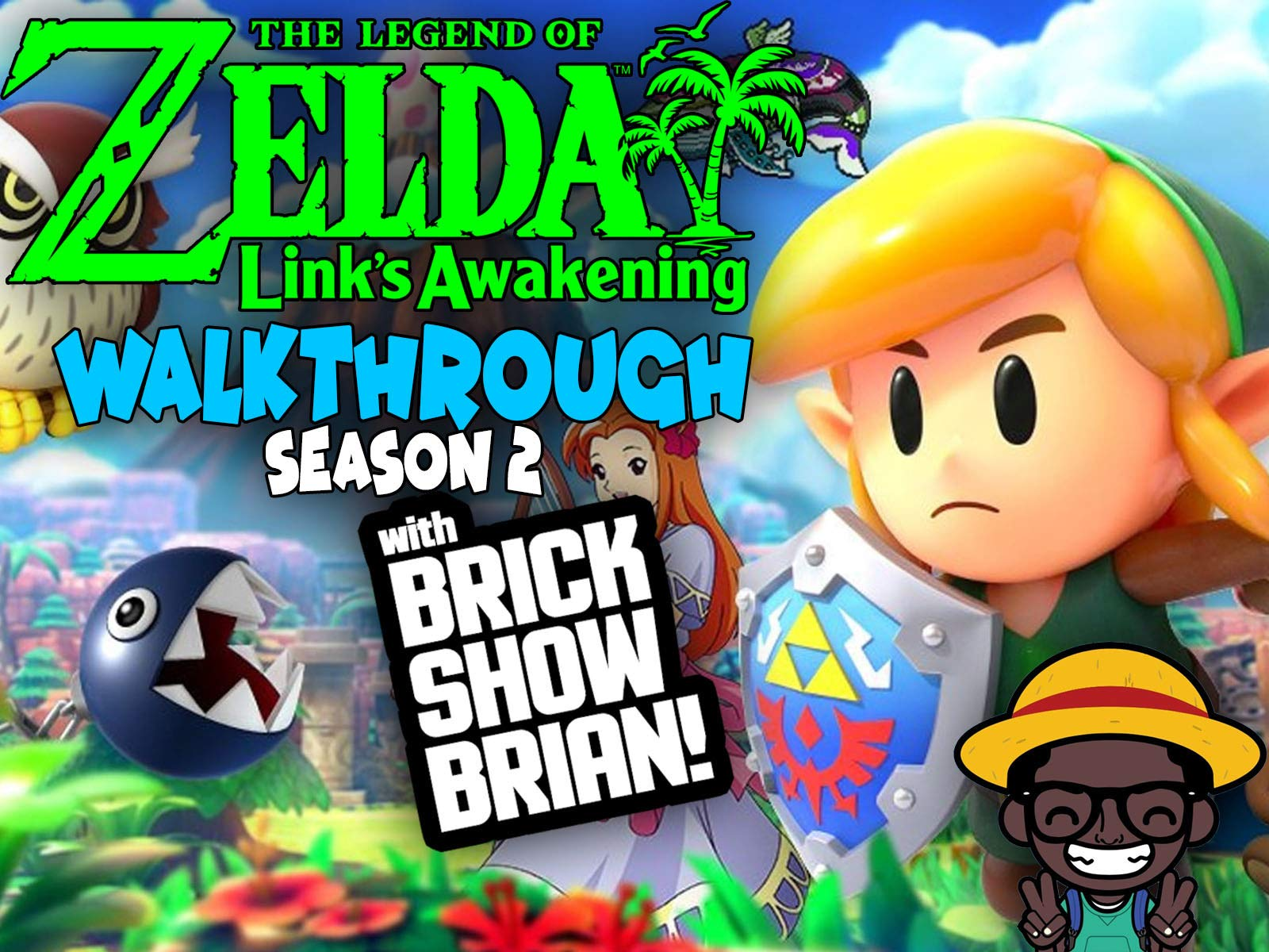 The Legend Of Zelda Links Awakening Walkthrough With Brick Show Brian - Season 2