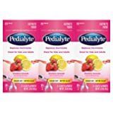Pedialyte Electrolyte Powder Strawberry Lemonade 0.6 oz Powder Packs (Pack of 18) (Tamaño: 18 Count)