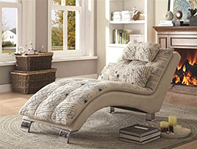 Consider the types of chaise lounges