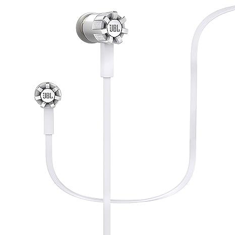 JBL Synchros S200A Ecouteurs avec commande 1-Button et Micro pour appareils Android - Blanc