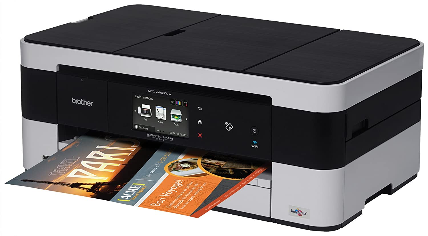 how to connect brother printer scanner to computer