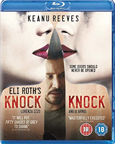 Knock Knock (2015) New In Theaters ( BluRay ) Thriller, Horror * Keanu Reeves
